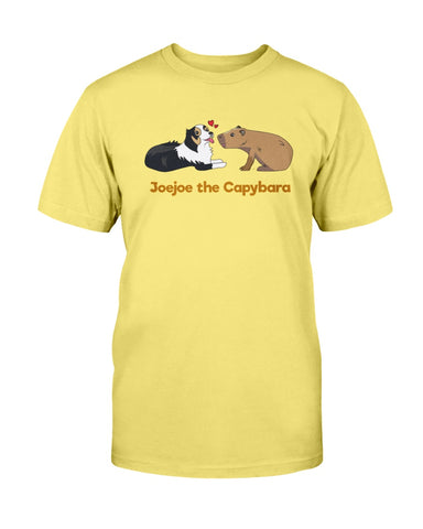 JoeJoe The Capybara and The Lovely Dog Men's T-Shirt