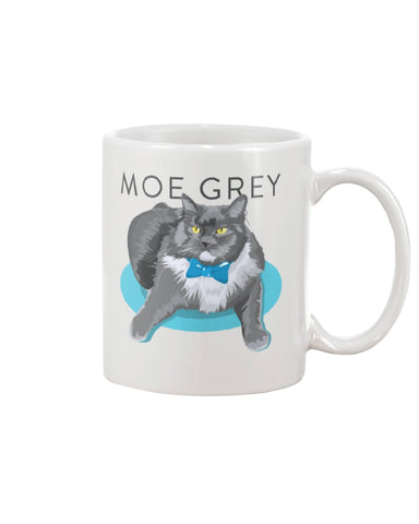 Moe Grey 11oz Mug