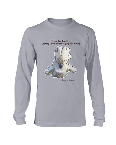 Pickles The Cockatoo Long Sleeve T-Shirt