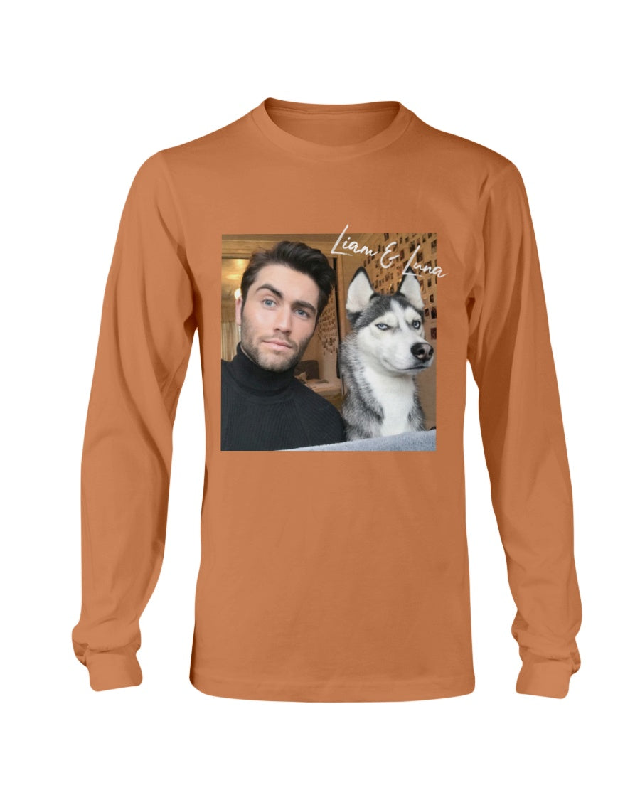 Liam and Luna Autograph Long Sleeve T-Shirt