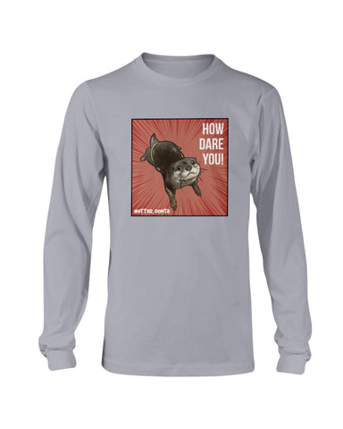 Grumpy Gonta - How Dare You! Long Sleeve T-Shirt