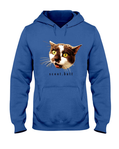 Fierce Scoot Butt Unisex Hoodie Jacket