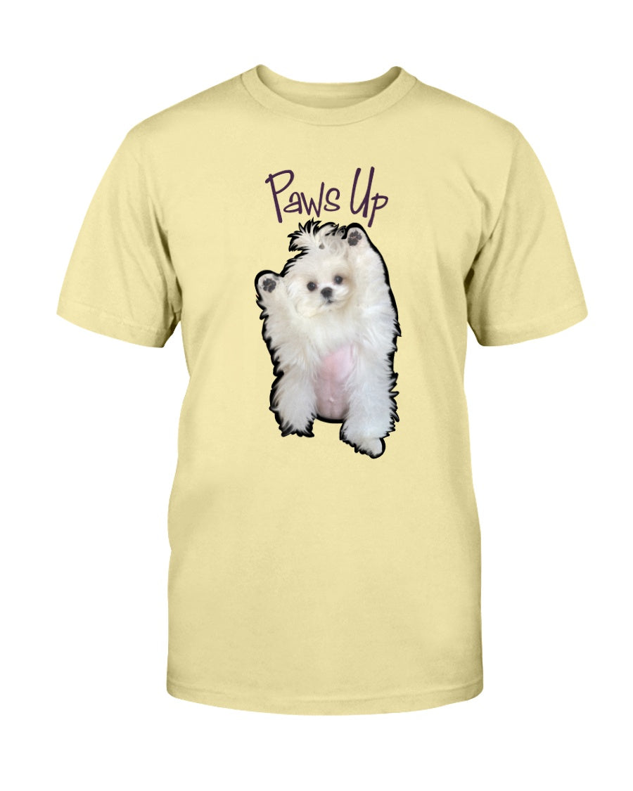 Coco The Maltese Dog Paws Up Official Unisex T-Shirt