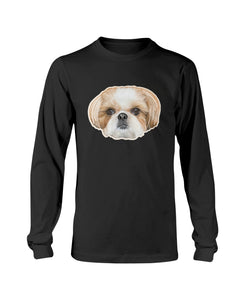 Daphne Fluff Dog Crew Official Long Sleeve T-Shirt