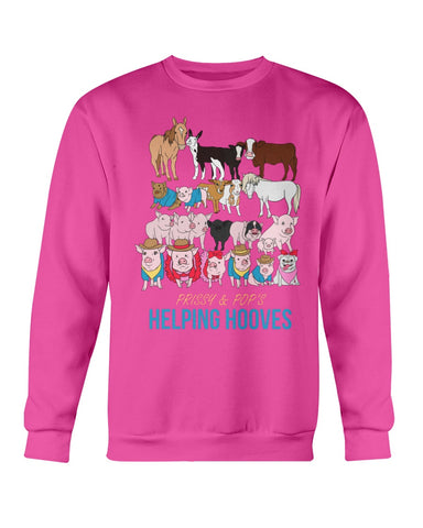 Prissy & Pop's Helping Hooves Official Sweatshirt