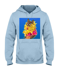 Mili the Mini Cat Unisex Hoodie