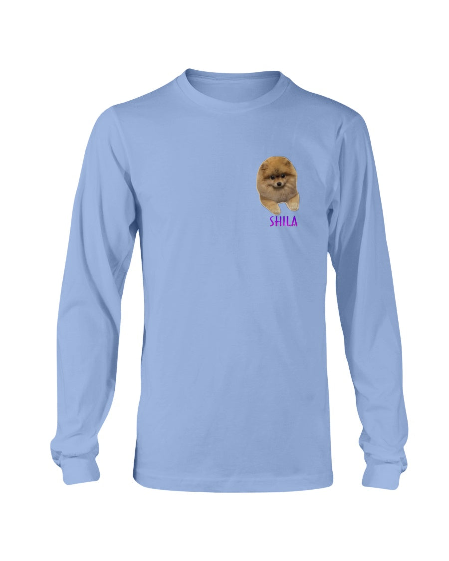 Shila Small Logo Long Sleeve T-Shirt
