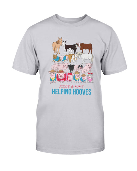 Prissy & Pop's Helping Hooves Official Unisex T-Shirt