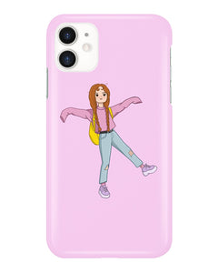 Hata Rock Cute Pink iPhone Case