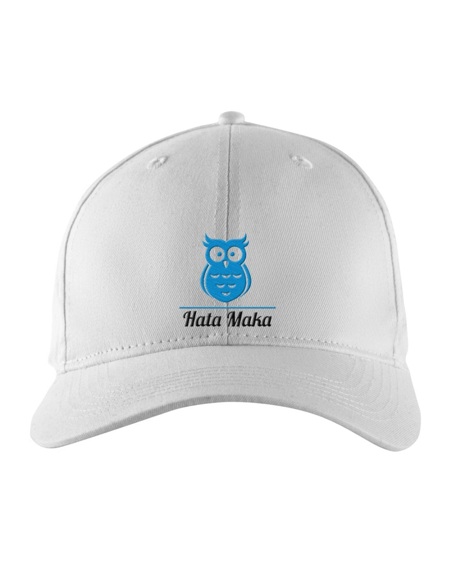 New Hata Maka Blue Owl Official White Snapback Trucker Cap