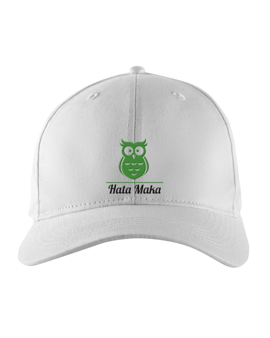 New Hata Maka Green Owl Official White Snapback Trucker Cap