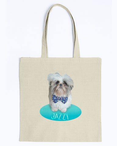 Cute Jazzy Canvas Tote Bag