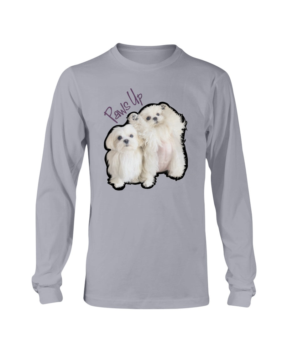 Coco And Cici Paws Up Official Long Sleeve T-Shirt