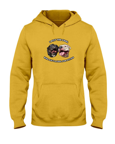 Goatie & Roo @ataleof2pitties - I Pity The Fool Hoodie