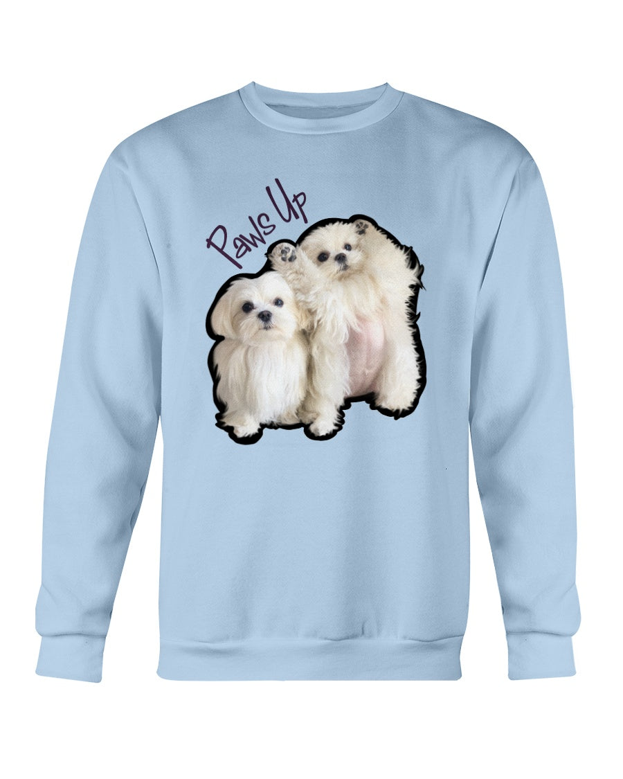 Coco And Cici Paws Up Official Sweatshirt