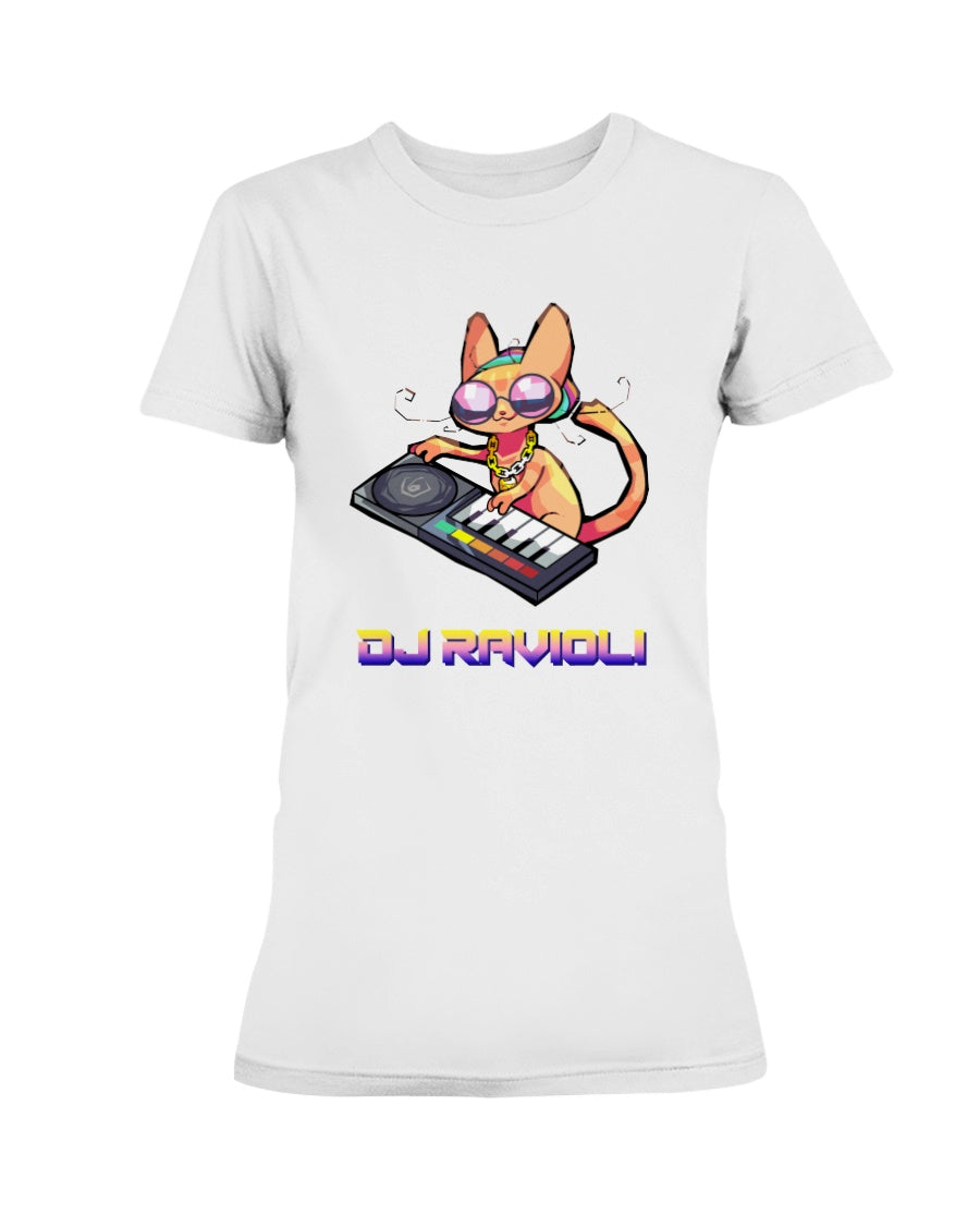 DJ Ravioli Ladies T-Shirt