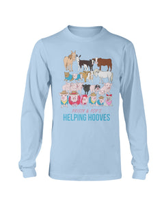 Prissy & Pop's Helping Hooves Official Long Sleeve T-Shirt