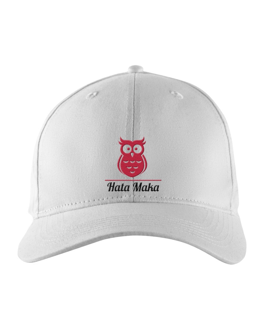 New Hata Maka Pink Owl Official White Snapback Trucker Cap