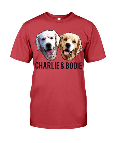 Charlie and Bodie Men's T-Shirt-Vardise.com