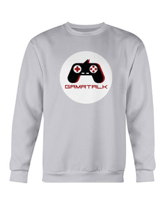 GAMRTALK White Logo Official Sweatshirt