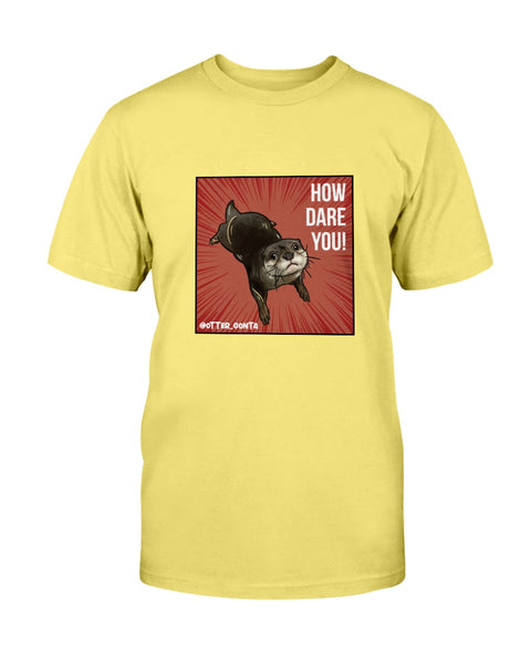 Grumpy Gonta - How Dare You! Men's T-Shirt-Vardise.com