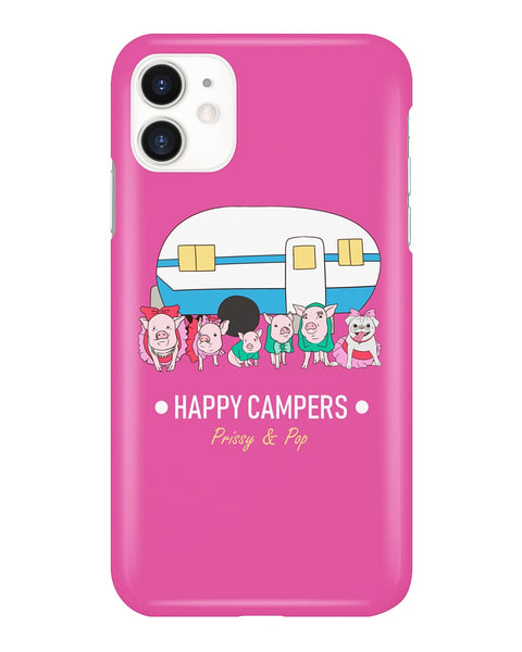 Prissy & Pop Happy Campers iPhone Case