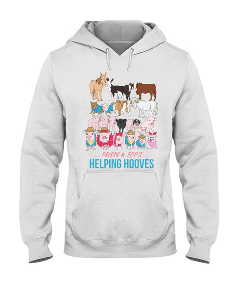 Prissy & Pop's Helping Hooves Official Hoodie