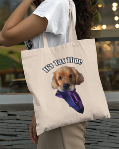 Sterling Newton it's Tax Time Official Canvas Tote Bag