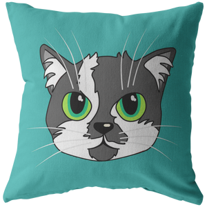 "Scoot Butt Head Official Zippered Pillow Case 16""x16"" (One Sided)"