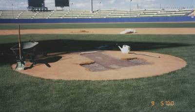 building an mlb pitcher's mound
