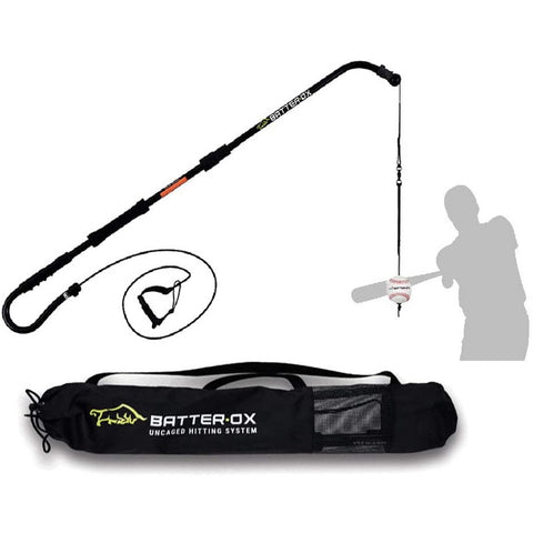 Batter-Ox Baseball Swing Trainer with storage bag