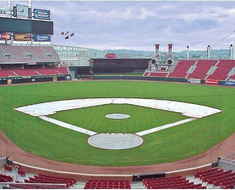 infield tarp cover for baseball field