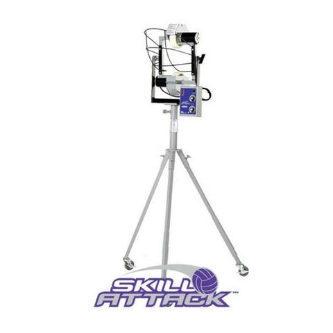 Skill attack volleyball serving machine