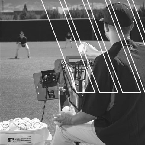 pitching machine - anytime baseball supply