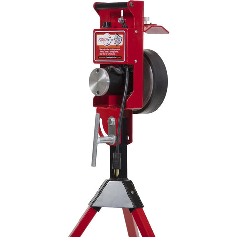 First Pitch Relief Pitcher single wheel pitching machine