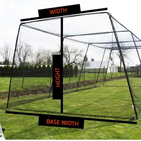 how to pick batting cage size