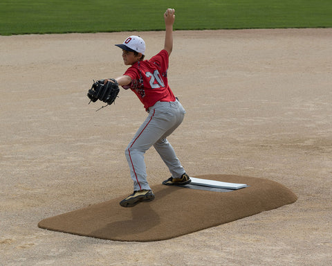 pitch pro model 486 portable youth game pitching mound
