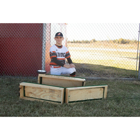 "8"" Tall Step Straight Portable Pitching Mound"