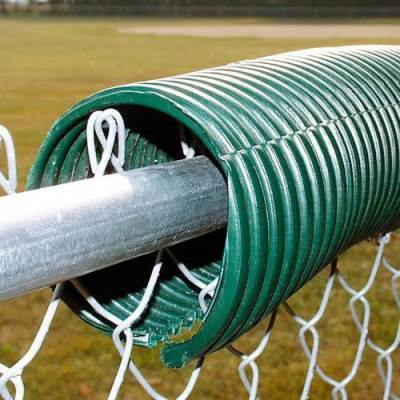 Poly-Cap Fence Guard Green 100' - Pitch Pro Direct