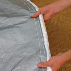 Weighted Pitcher's Mound Tarp Cover 18'
