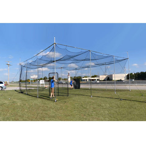 Cimarron Diamond Deluxe Batting Cage 32'x 32'x 12' - Pitch Pro Direct