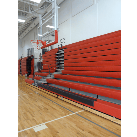 Bison 4′ Removable Bleacher Protective Padding - Pitch Pro Direct