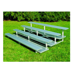 4 Row Powder Coated Low Rise Aluminum Bleachers