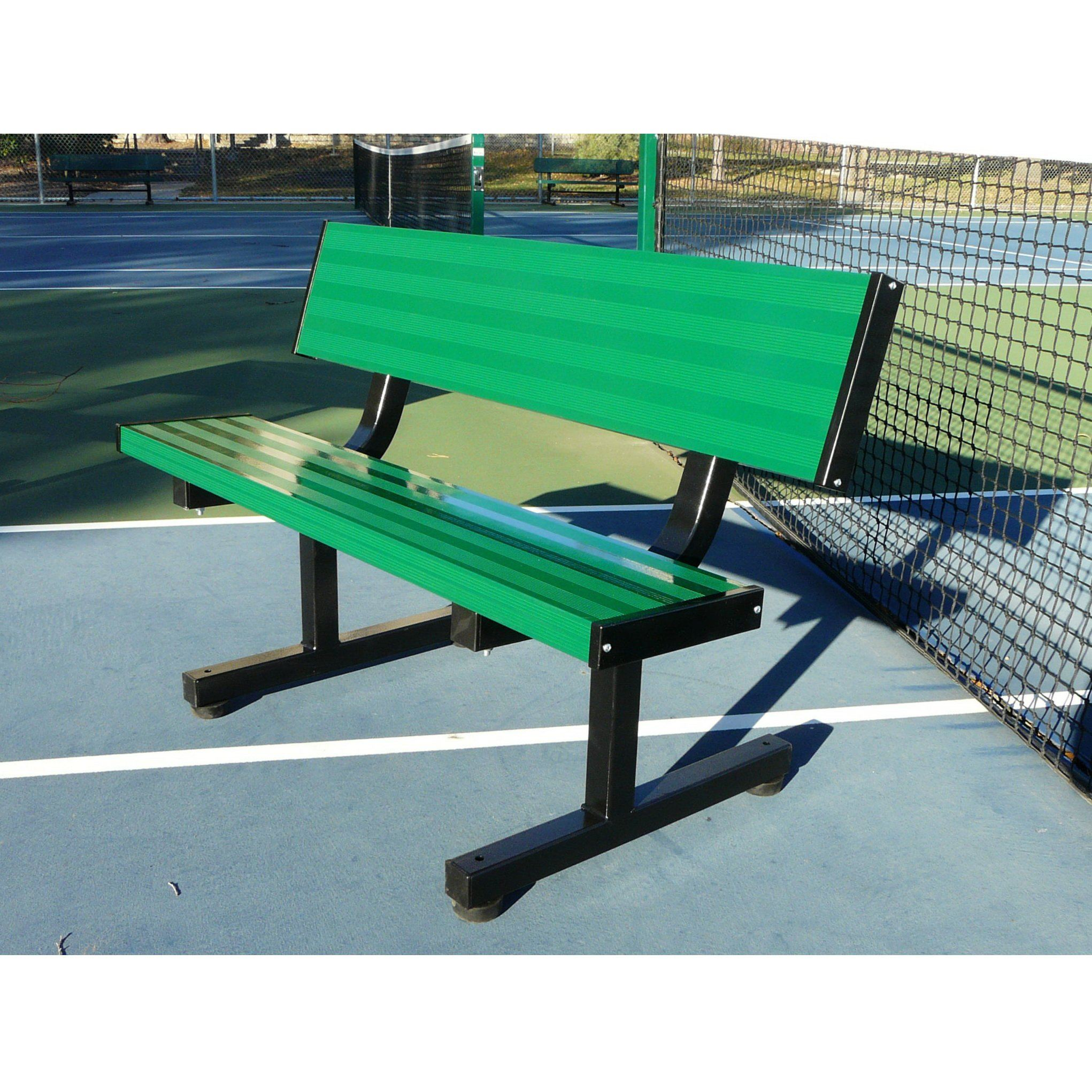 Bison 4′ Tennis Player Bench - Pitch Pro Direct