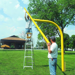 Bison 5-9/16″ Gooseneck Football Goalposts