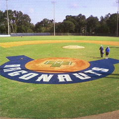 5' Home Plate Halo with Wings