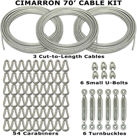 Cimarron Cable Kit Batting Cage Accessories