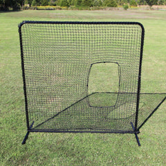 Cimarron Softball Net and Commercial Frame Front View