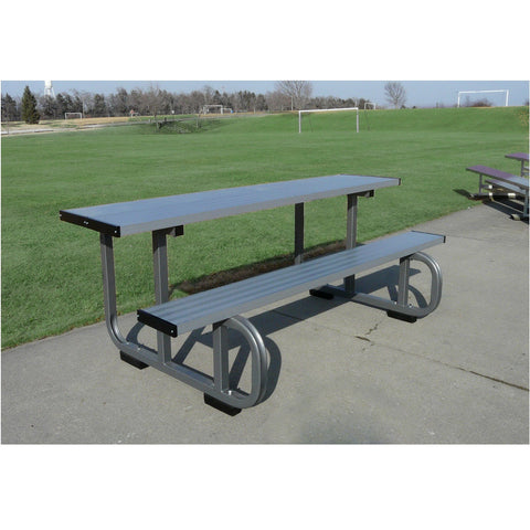 Bison 8′ Outdoor Sports Scorers Table - Pitch Pro Direct
