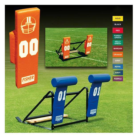 Fisher 3 Man 9800 Youth Football Blocking Sled